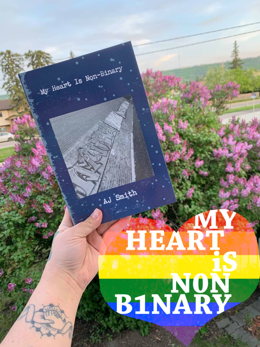 My Heart Is Non Binary Books & Zines!