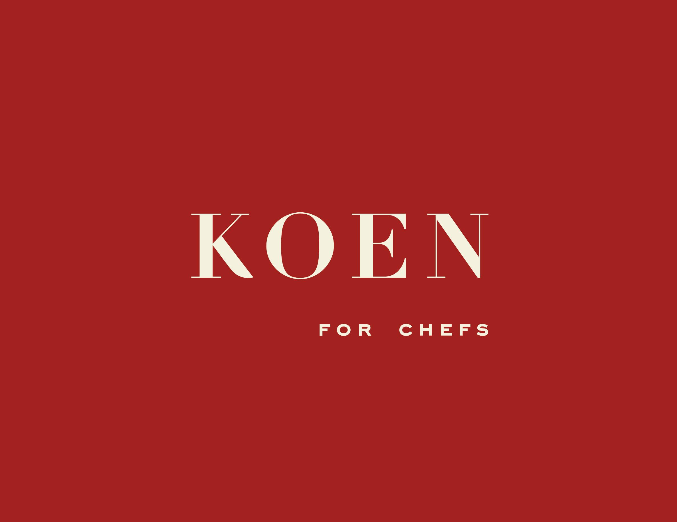 Koen for Chefs