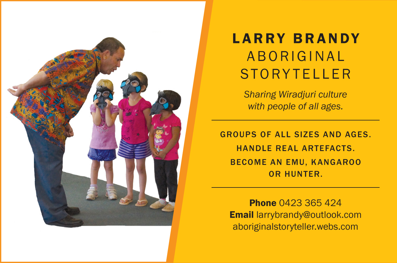 Larry Brandy Aboriginal storyteller