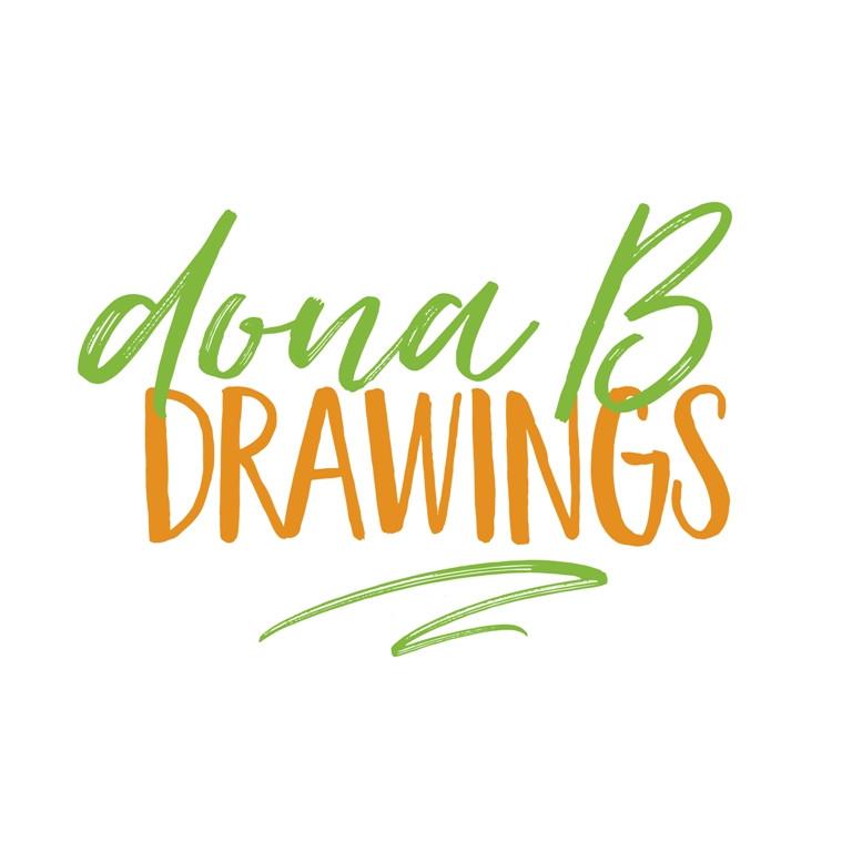dona B drawings