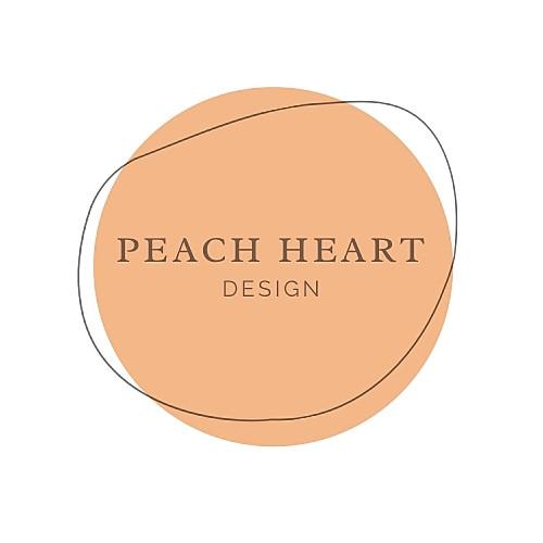 Peach Heart Design