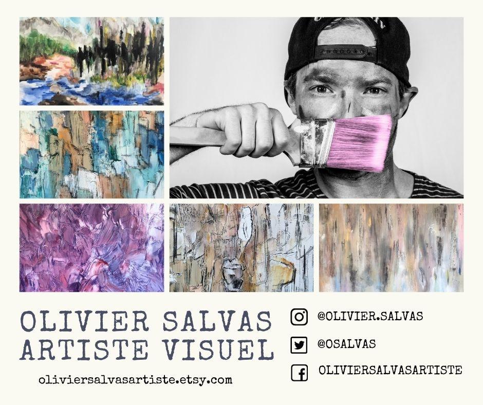 Olivier Salvas Artiste