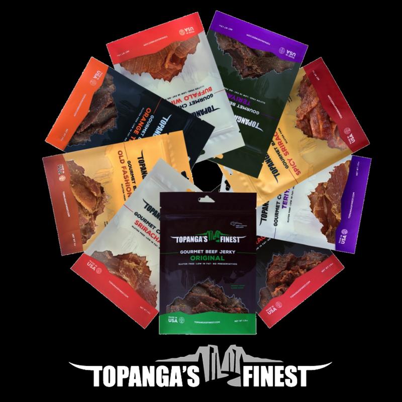 Topanga's Finest Gourmet Jerky