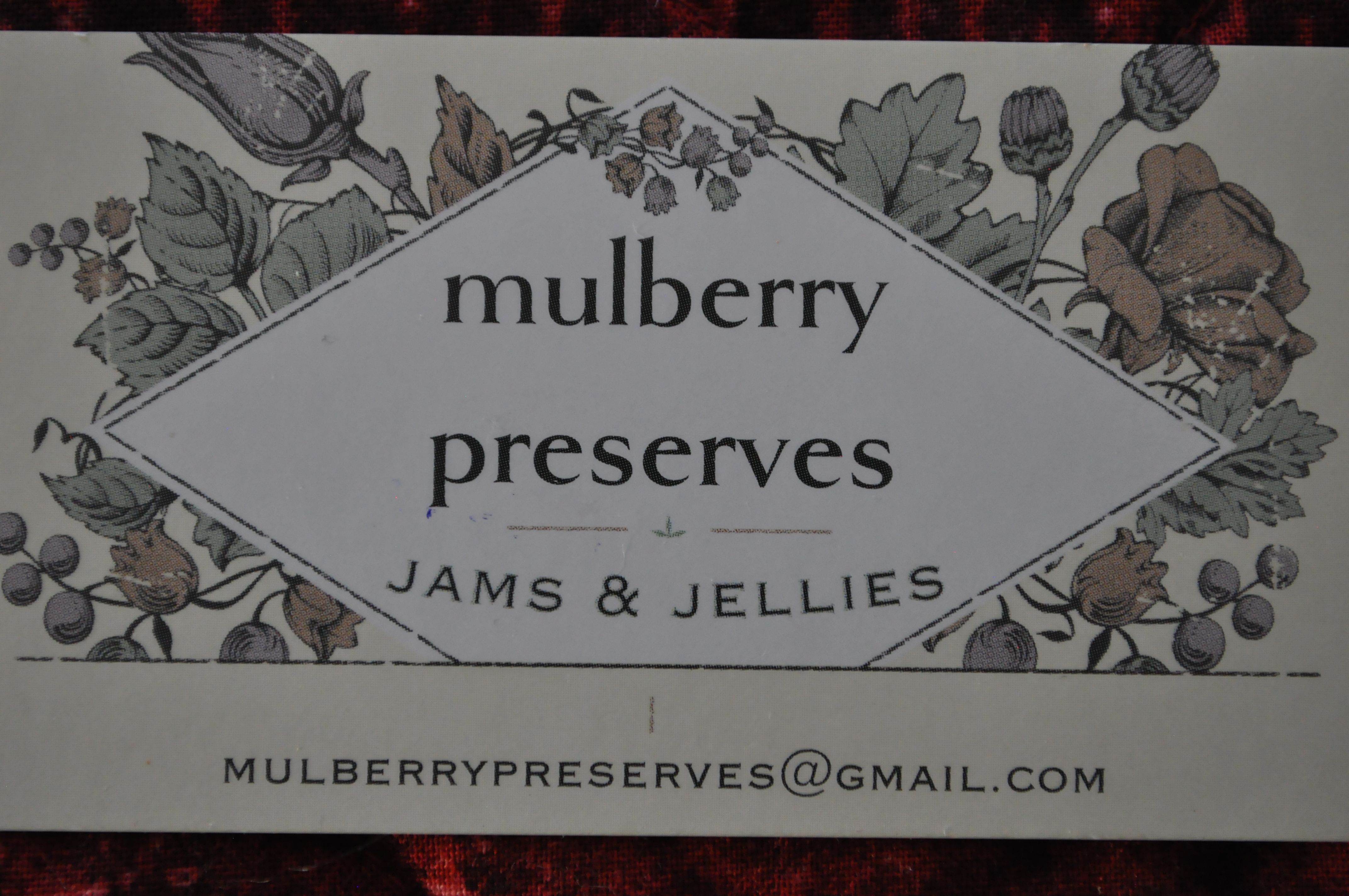 Mulberry Preserves