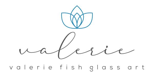 Valerie Fish Glass